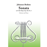 Sonata in E Flat Major Op.120 No.2 . Clarinet and Piano . Brahms