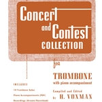 Concert and Contest Collection w/ online mdeia . Trombone and Piano . Various