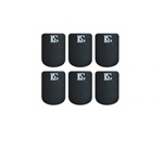 American Way Mk A10L Mouthpiece Cushions (black, large .8mm, 6 pack) . BG
