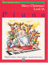 Alfred's Basic Piano Course: Merry Christmas! v.1A . Piano . Various