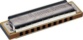 1896D Marine Band 1896 Classic (key of D) Harmonica . Hohner