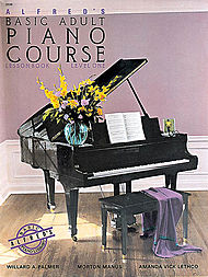 Alfred's Basic Adult Piano Course Lesson Book v.1 . Piano . Various