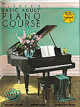 Alfred's Basic Adult Piano Course Lesson Book v.2 w/CD . Piano . Various