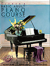 Alfred's Basic Adult Piano Course Lesson Book v.3 . Piano . Various