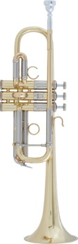 "AC190 Stradivarius ""Artisan"" C Trumpet Outfit (lacquer) . Bach"