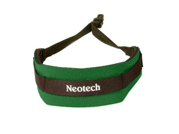 1919162 Soft Sax Neck Strap (forest green) . Neotech