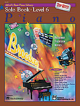 Alfred's Basic Piano Library Solo Book Top Hits v.6 . Piano . Various