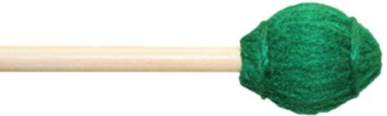 12B Keyboard Mallets (med. hard, birch, green yarn) . Mike Balter