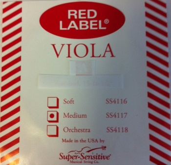 SSVIOLAG Red Label Viola G String . Super Sensitive