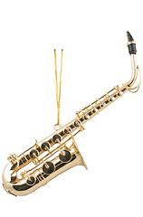 "Aim 9200 Saxophone Ornament (4.5"")"