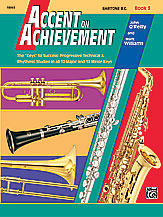 Accent On Achievement Baritone BC Book 3