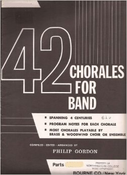 42 Chorales for Band . Flute . Various