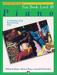 Alfred's Basic Piano Library Fun Book v.1B . Piano . Various