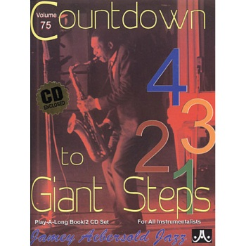 Aebersold Vol. 75  Countdown to Giant Steps  W/CD