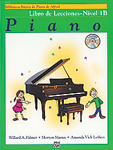 Alfred's Basic Piano Library Lesson v.1B w/CD (spanish edition) . Piano . Various