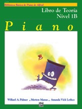 Alfred's Basic Piano Library Theory v.1B (spanish edition) . Piano . Various