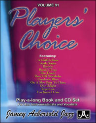 Aebersold Vol. 91  Players' Choice  W/CD