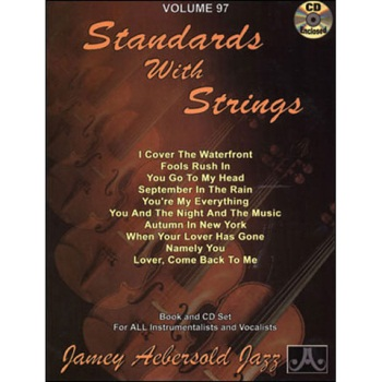 Aebersold Vol. 97 Standard With Strings  W/CD