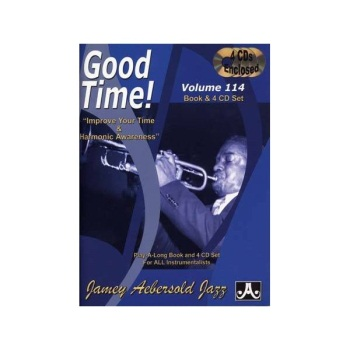 Aebersold Vol. 114 Good Time!  W/CD