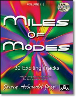 Aebersold Vol. 116 Miles of Modes  W/CD