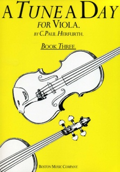 A Tune A Day For Viola . Book 3 . Herfurth