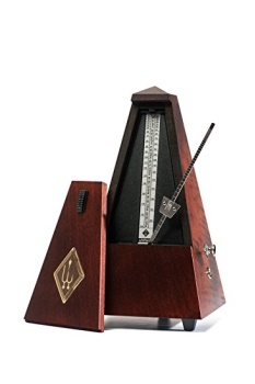811M Wooden Metronome w/Bell (mahogany) . Wittner