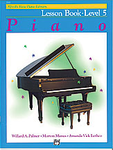 Alfred's Basic Piano Library Lesson Book v.5 . Piano . Various