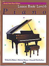 Alfred's Basic Piano Library Lesson Book v.6 . Piano . Various