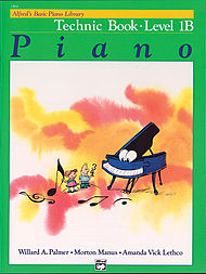 Alfred's Basic Piano Library Technic Book v.1B . Piano . Various