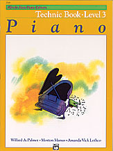 Alfred's Basic Piano Library Technic Book v.3 . Piano . Various