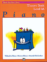 Alfred's Basic Piano Library Theory Book v.1A . Piano . Various
