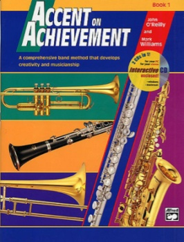 Accent On Achievement v.1 w/CD . Alto Clarinet . O'Reilly/Williams