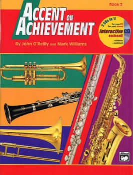 Accent On Achievement v.2 w/CD . Alto Saxophone . O'Reilly//Williams